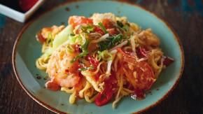 Smažené těstoviny Bami Goreng